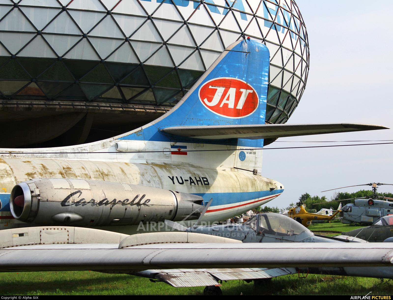 JAT - Yugoslav Airlines YU-AHB aircraft at Belgrade - Aeronautical Museum Belgrade