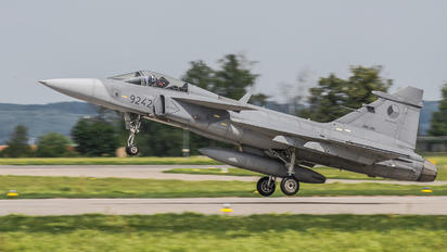 9242 - Czech - Air Force SAAB JAS 39C Gripen