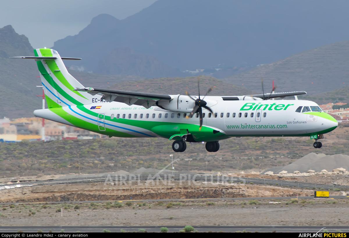 Binter Canarias EC-MJG aircraft at Tenerife Sur - Reina Sofia