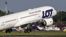 SP-LSB - LOT - Polish Airlines Boeing 787-9 Dreamliner aircraft