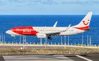 OO-JPT - TUI Airlines Belgium Boeing 737-800 aircraft