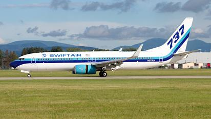 N277EA - Swift Air Boeing 737-800