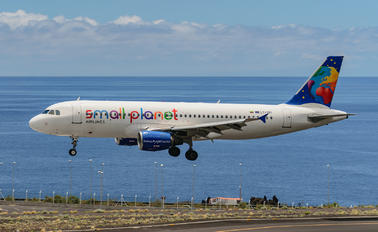 LY-SPI - Small Planet Airlines Airbus A320