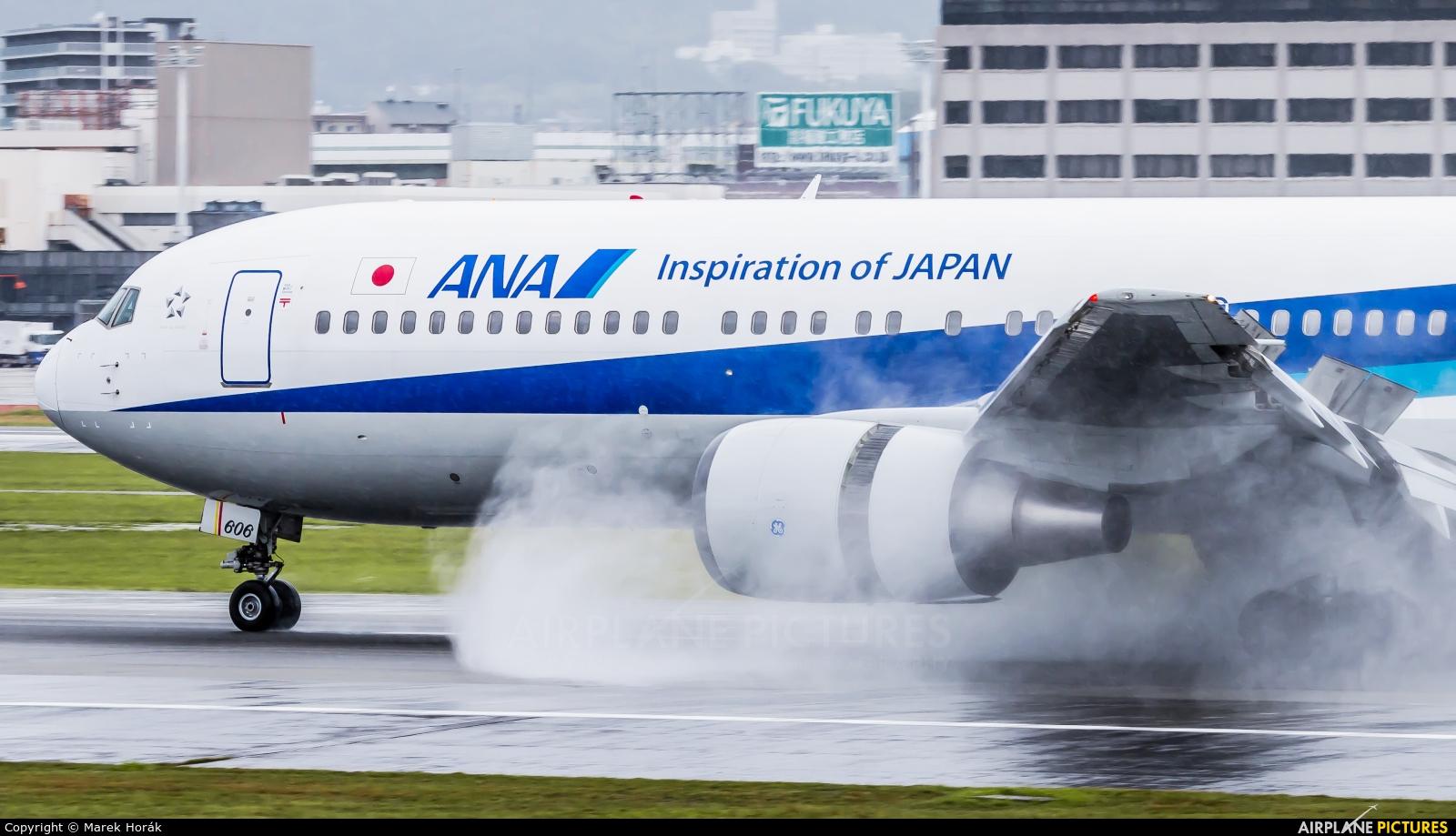 ANA - All Nippon Airways JA606A aircraft at Osaka - Itami Intl
