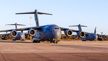 USAF Boeing C17s support the US Vice-President's visit to Brazil title=