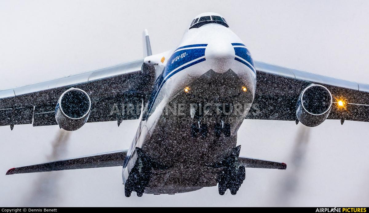 Volga-Dnepr RA-82077 aircraft at Toronto - Pearson Intl, ON