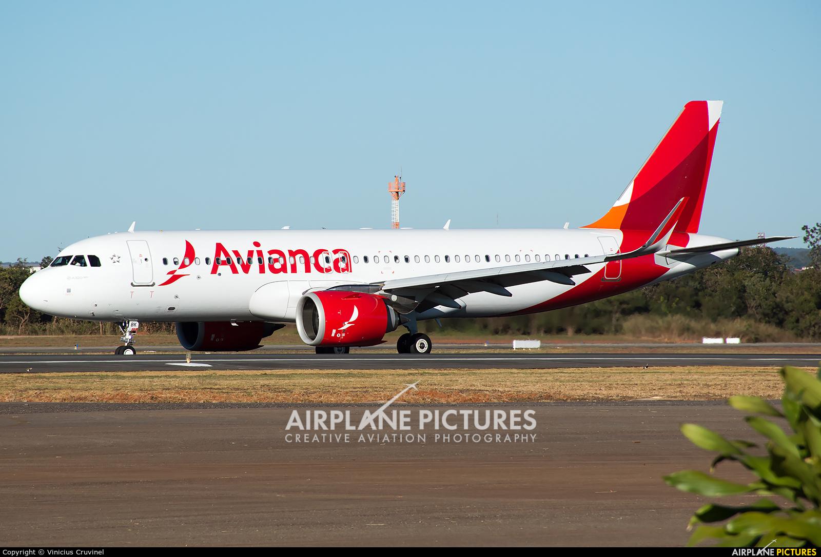 Avianca Brasil PR-OBK aircraft at Brasília - Presidente Juscelino Kubitschek Intl