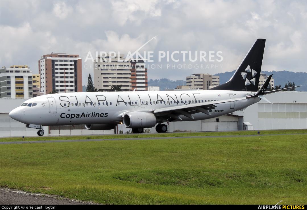 Copa Airlines HP-1823CMP aircraft at Guatemala - La Aurora