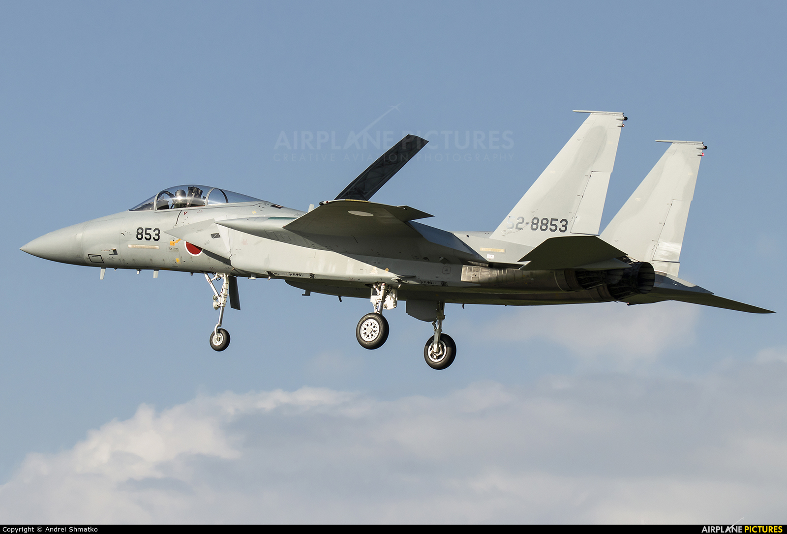 Japan - Air Self Defence Force 52-8853 aircraft at Nagoya - Komaki AB