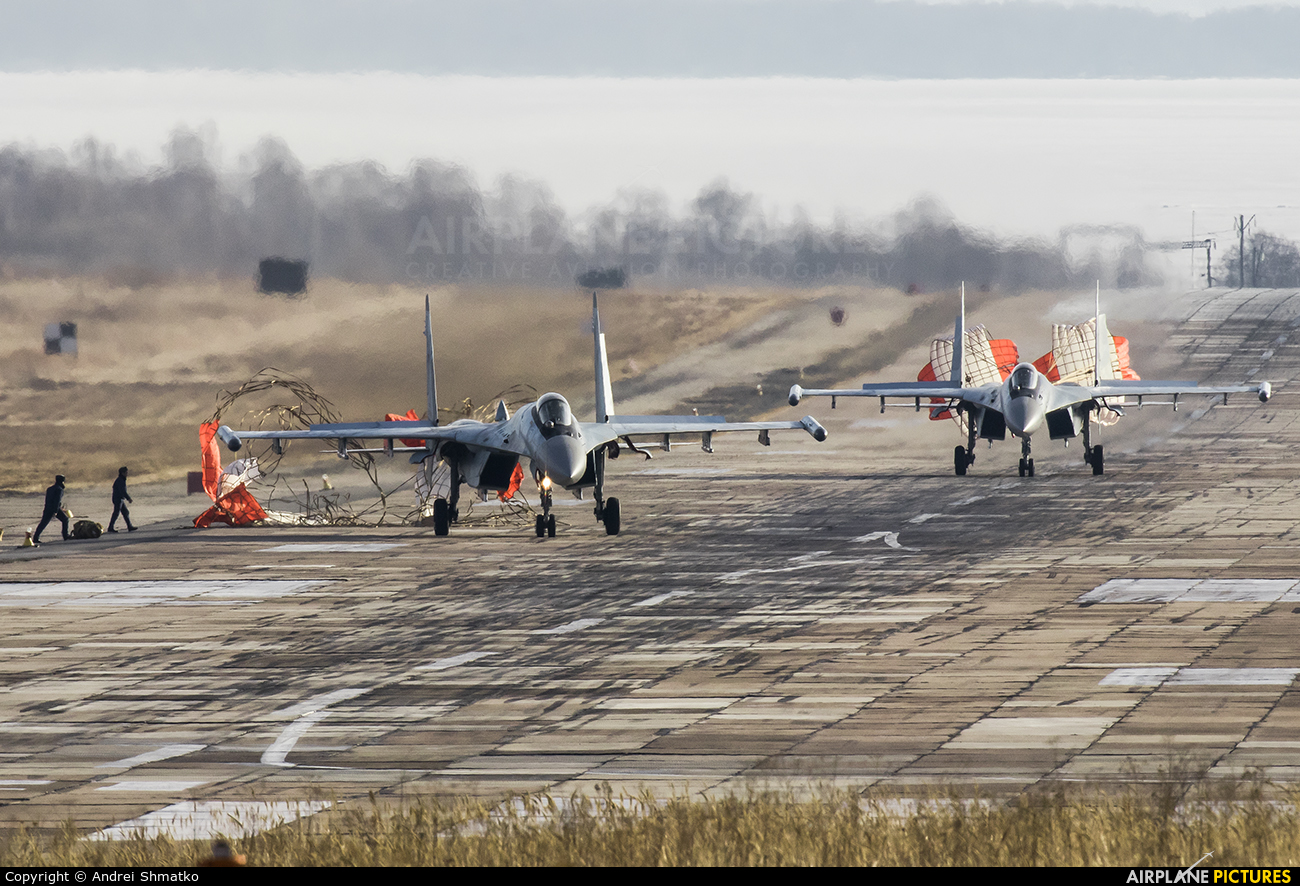 Russia - Air Force RF-95851 aircraft at Off Airport - Russia