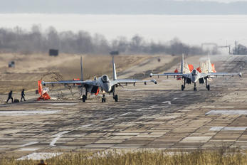 RF-95851 - Russia - Air Force Sukhoi Su-35S