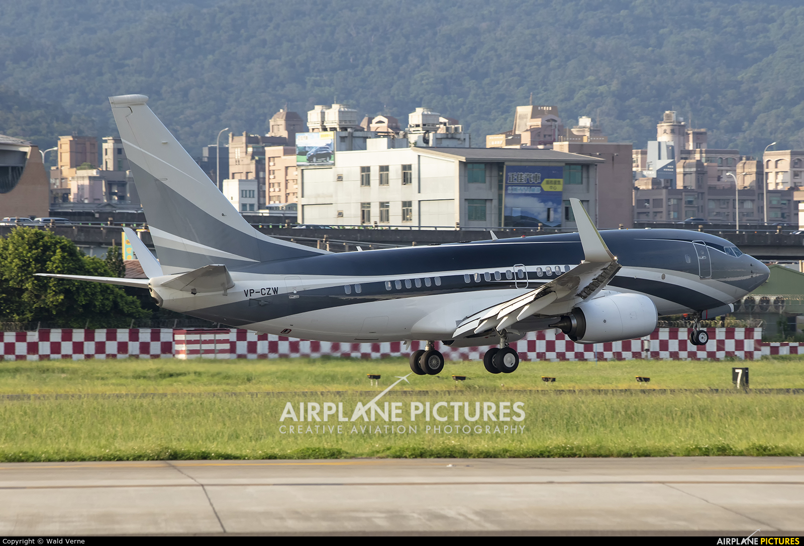 Unknown VP-CZW aircraft at Taipei - Sung Shan