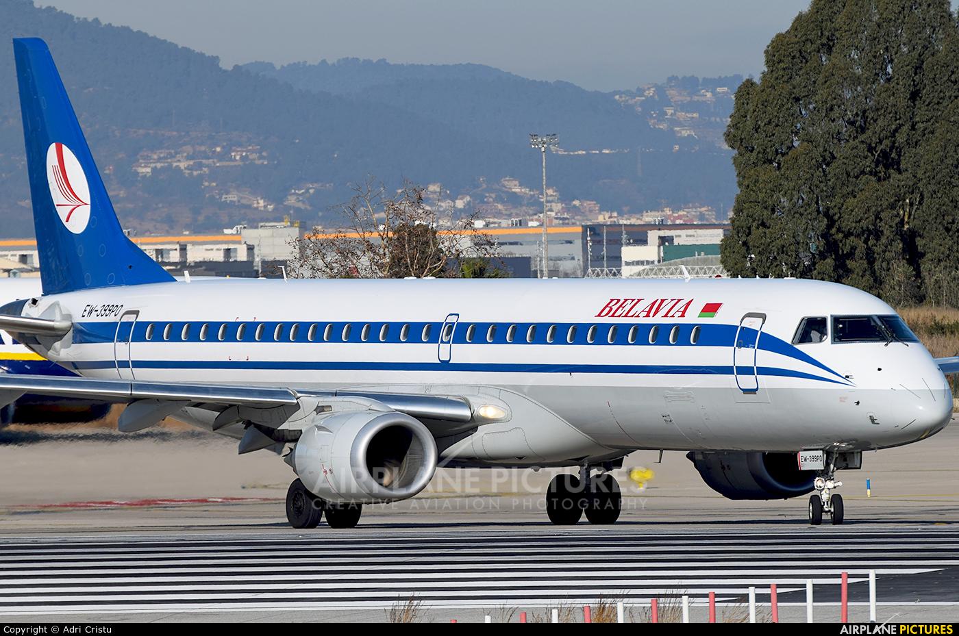 Belavia EW-399PO aircraft at Barcelona - El Prat