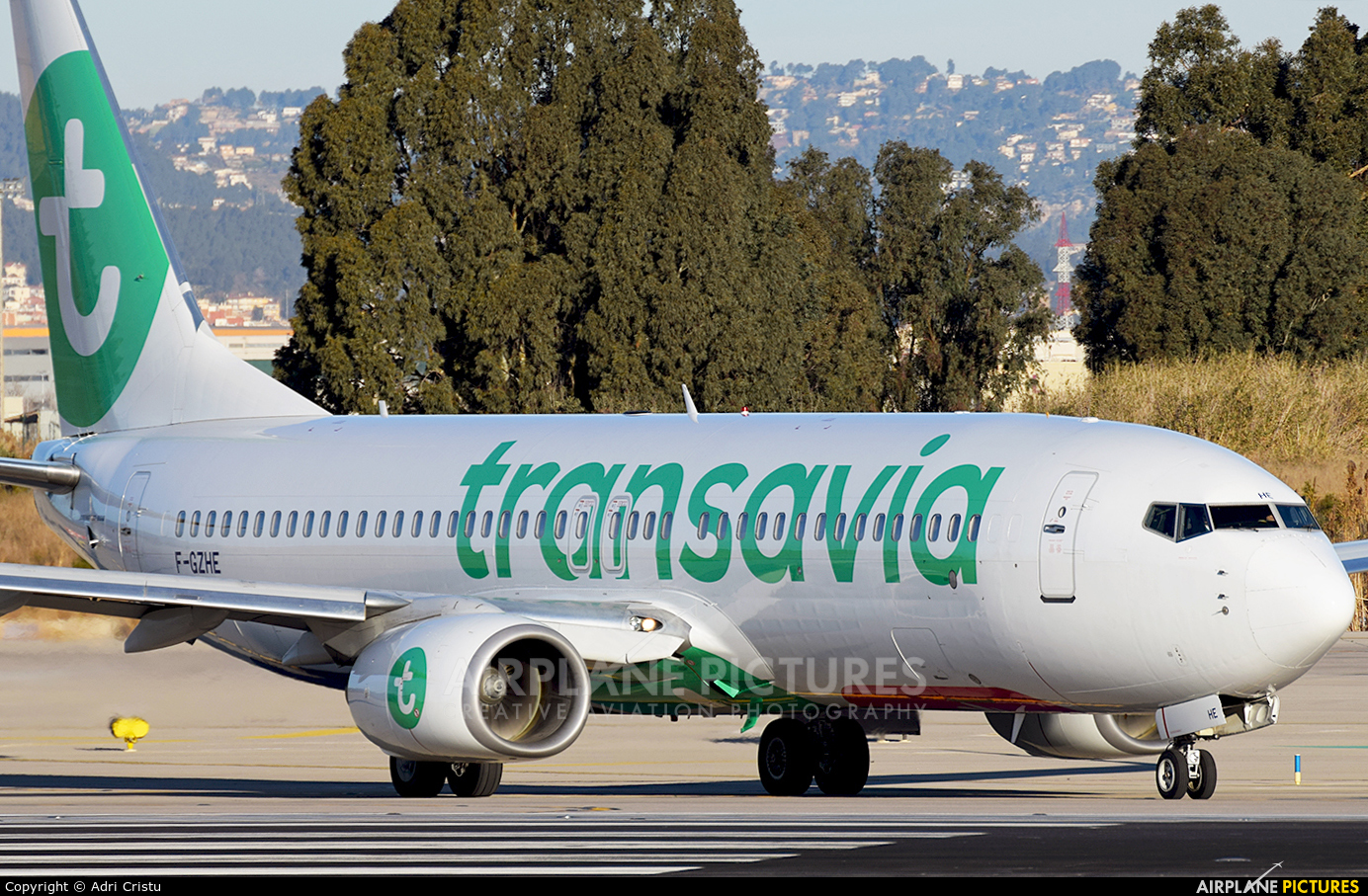 Transavia France F-GZHE aircraft at Barcelona - El Prat