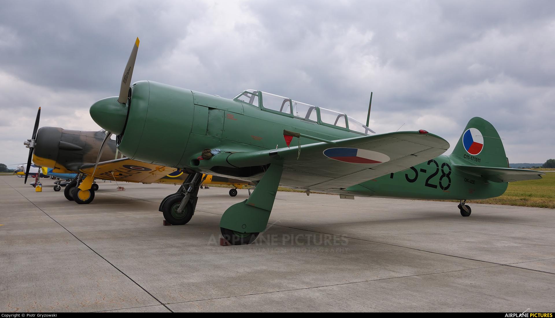 Private OK-JZE aircraft at Přerov