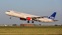 OY-KBE - SAS - Scandinavian Airlines Airbus A321 aircraft
