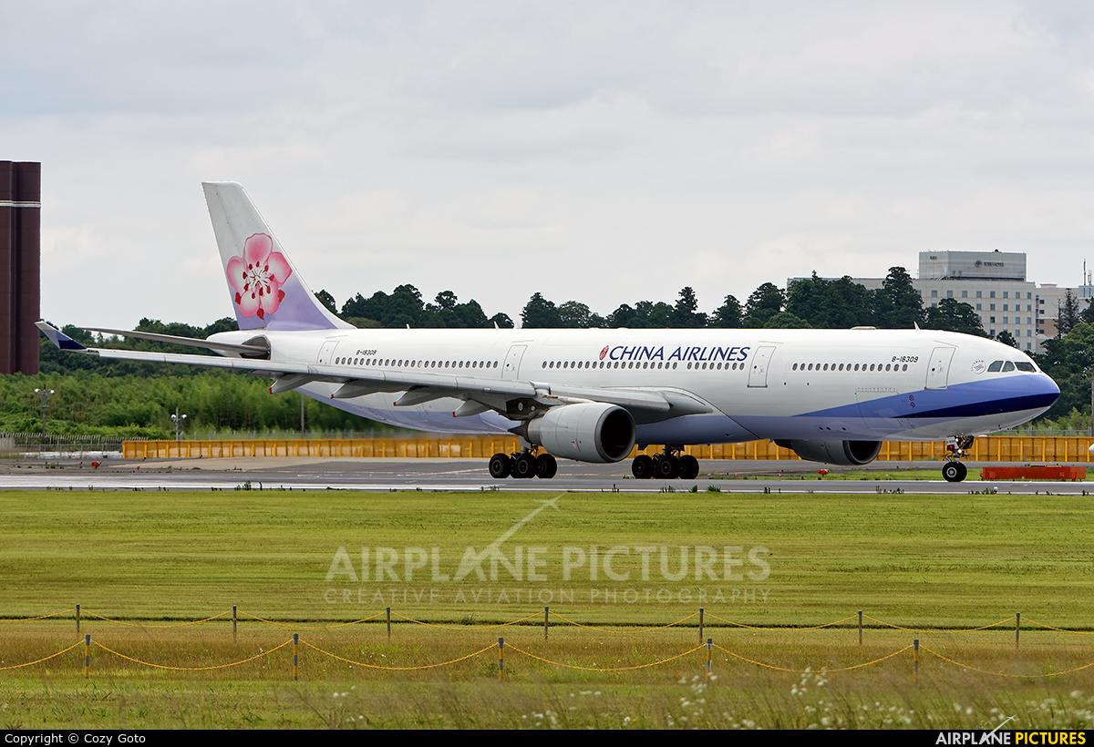 China Airlines B-18309 aircraft at Tokyo - Narita Intl
