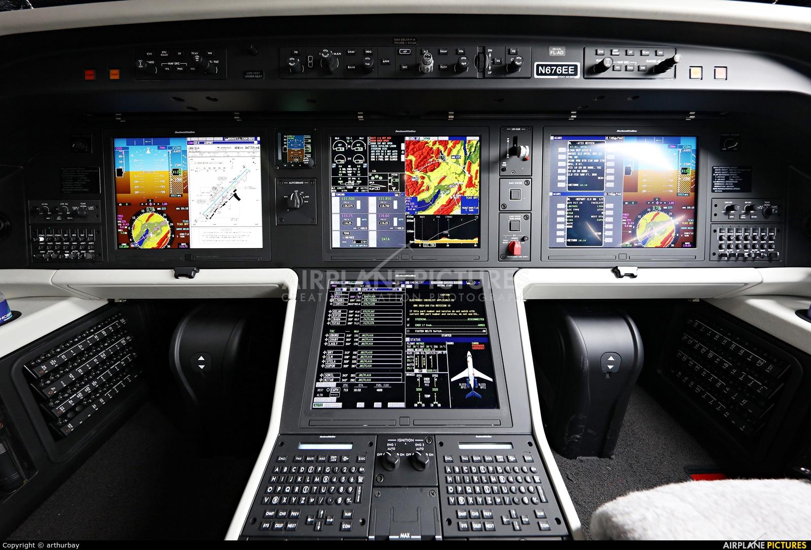 Embraer Executive Aircraft Inc N676EE aircraft at Geneva Intl