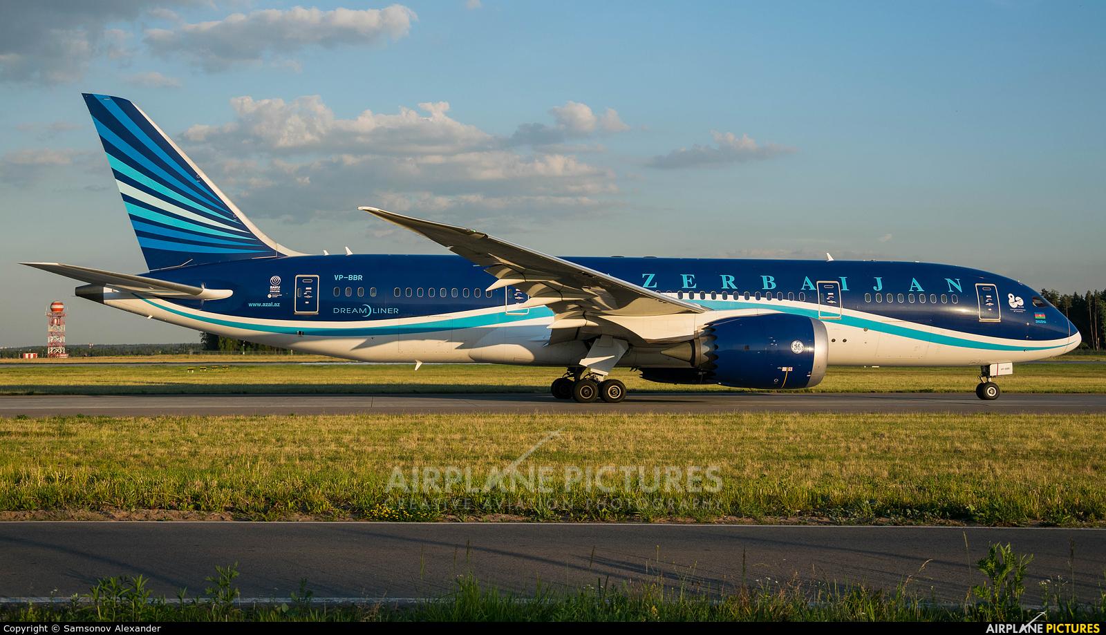 Azerbaijan Airlines VP-BBR aircraft at Moscow - Vnukovo