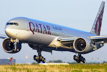 A7-BEF - Qatar Airways Boeing 777-300ER