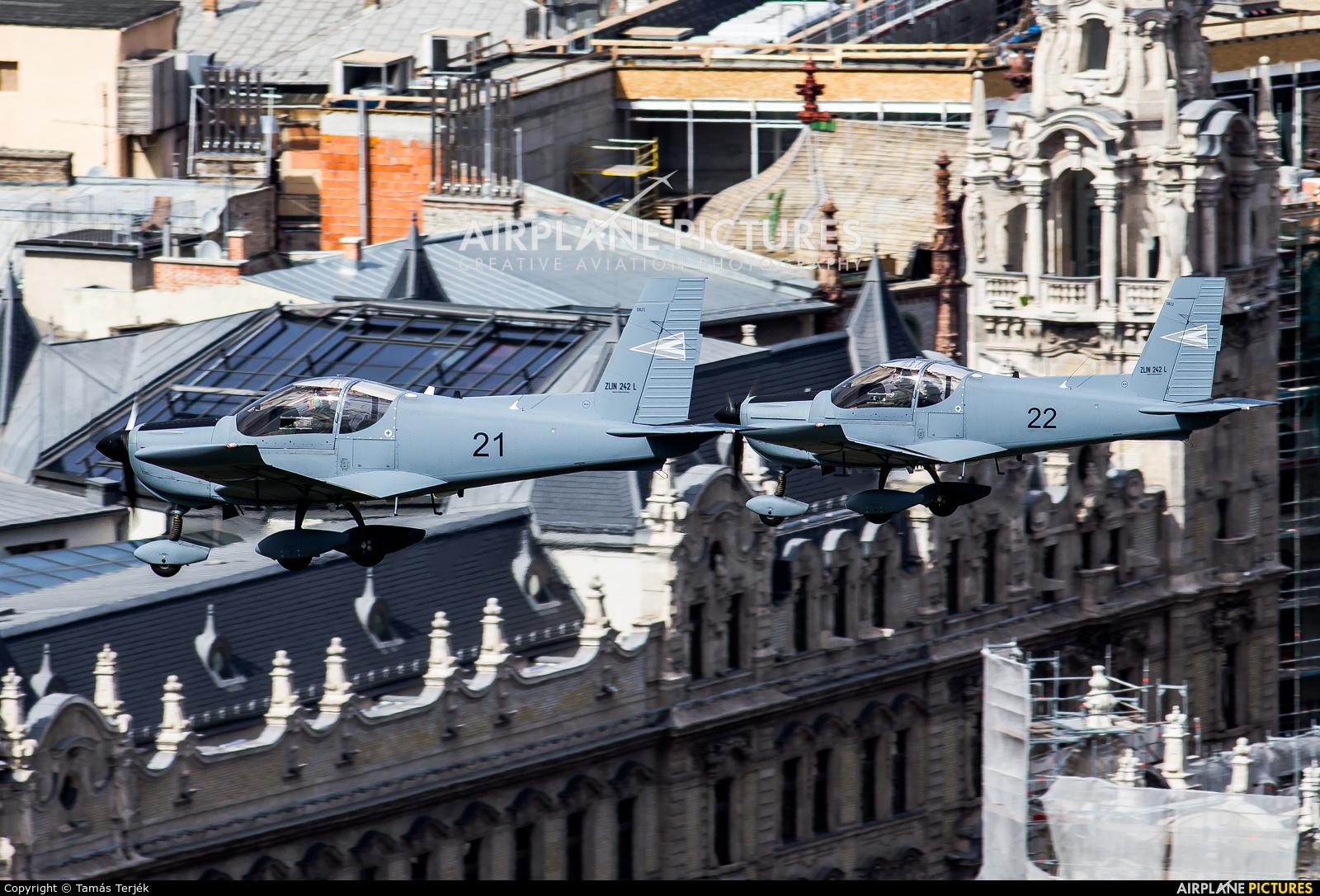 Hungary - Air Force 21 aircraft at