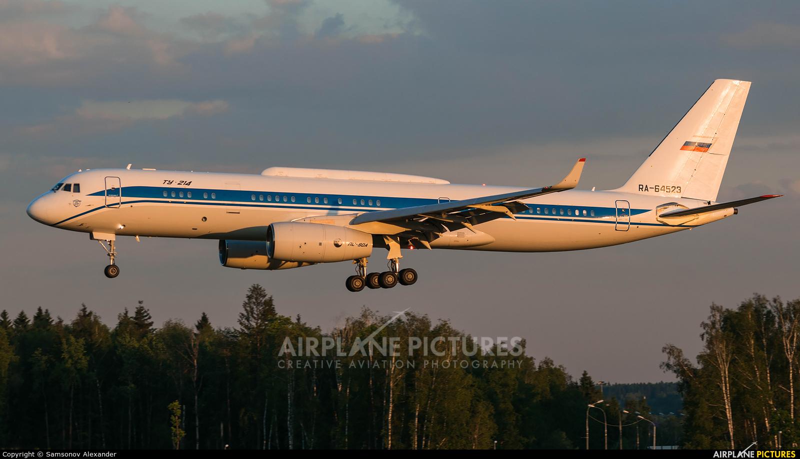 Russia - Government RA-64523 aircraft at Moscow - Vnukovo