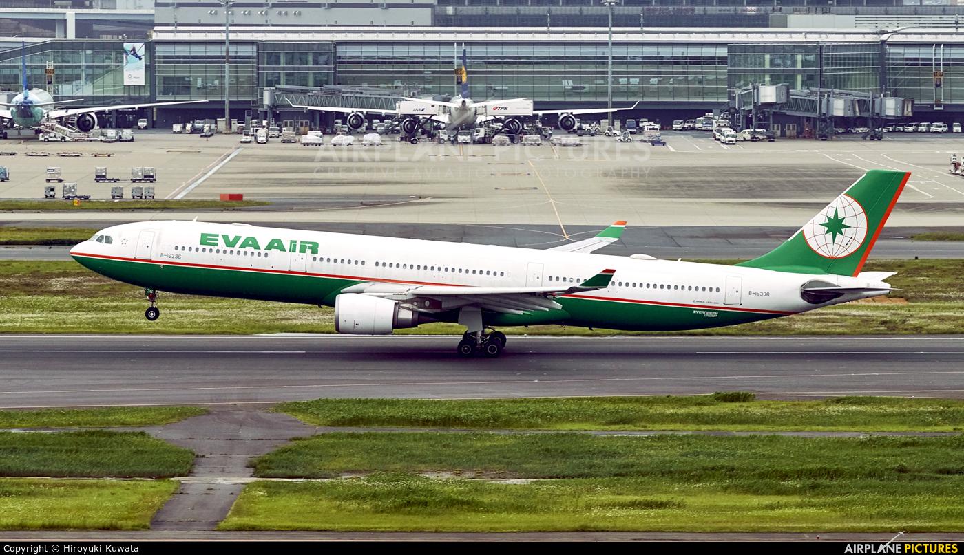 Eva Air B-16336 aircraft at Tokyo - Haneda Intl