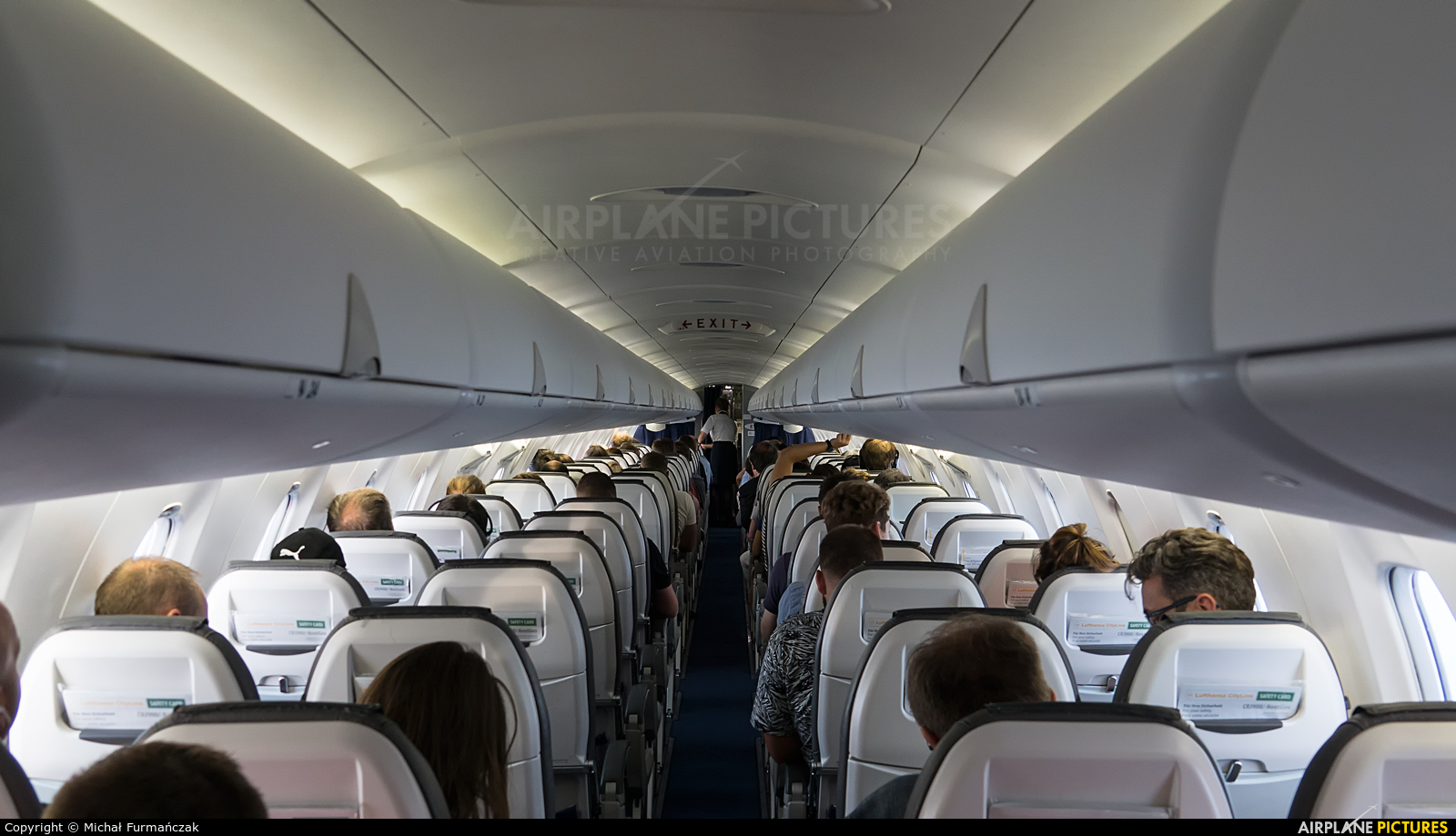 Lufthansa Regional - CityLine D-ACND aircraft at In Flight - International