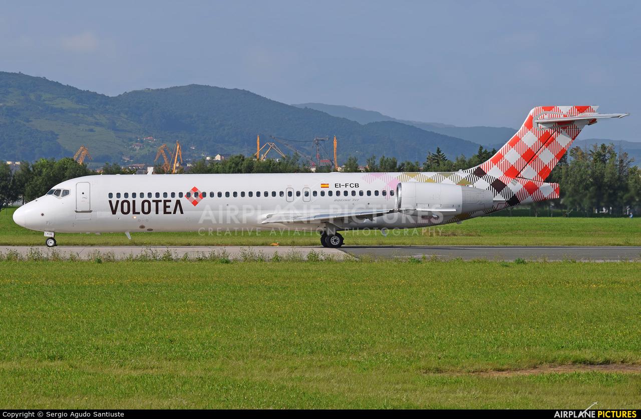 Volotea Airlines EI-FCB aircraft at Santander