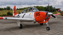 N7041U - Private Beechcraft T-34B Mentor aircraft
