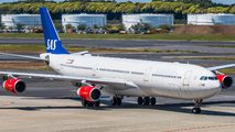 OY-KBA - SAS - Scandinavian Airlines Airbus A340-300 aircraft