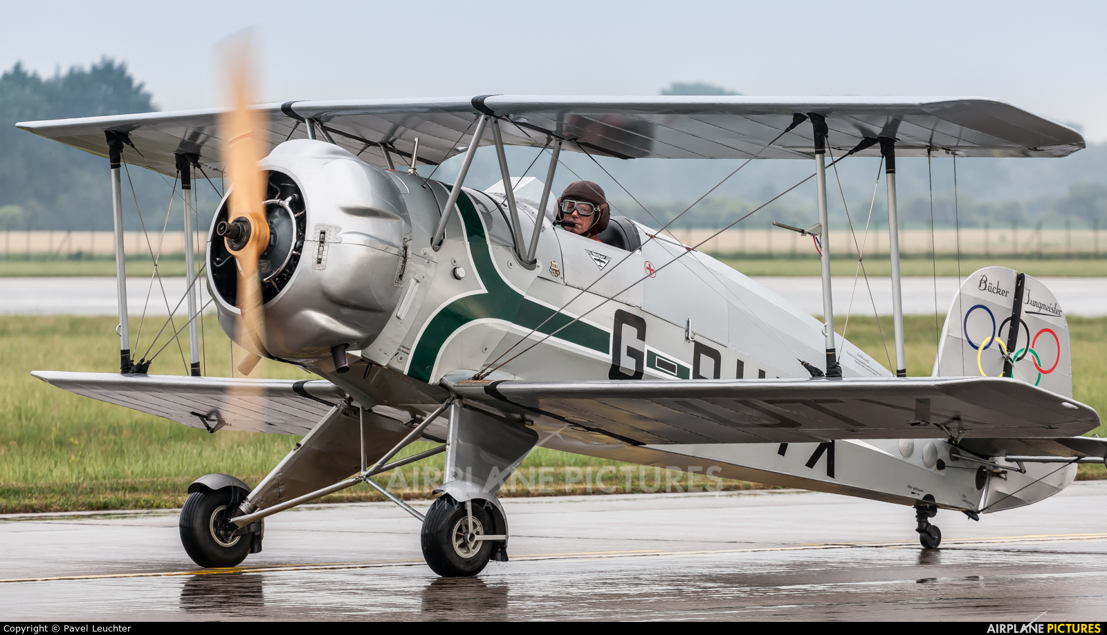 Private G-BUTX aircraft at Pardubice