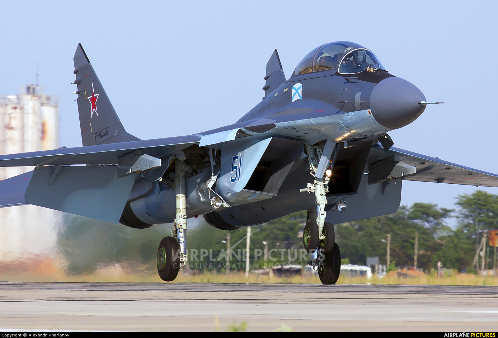 Russia - Navy 51 aircraft at Undisclosed Location