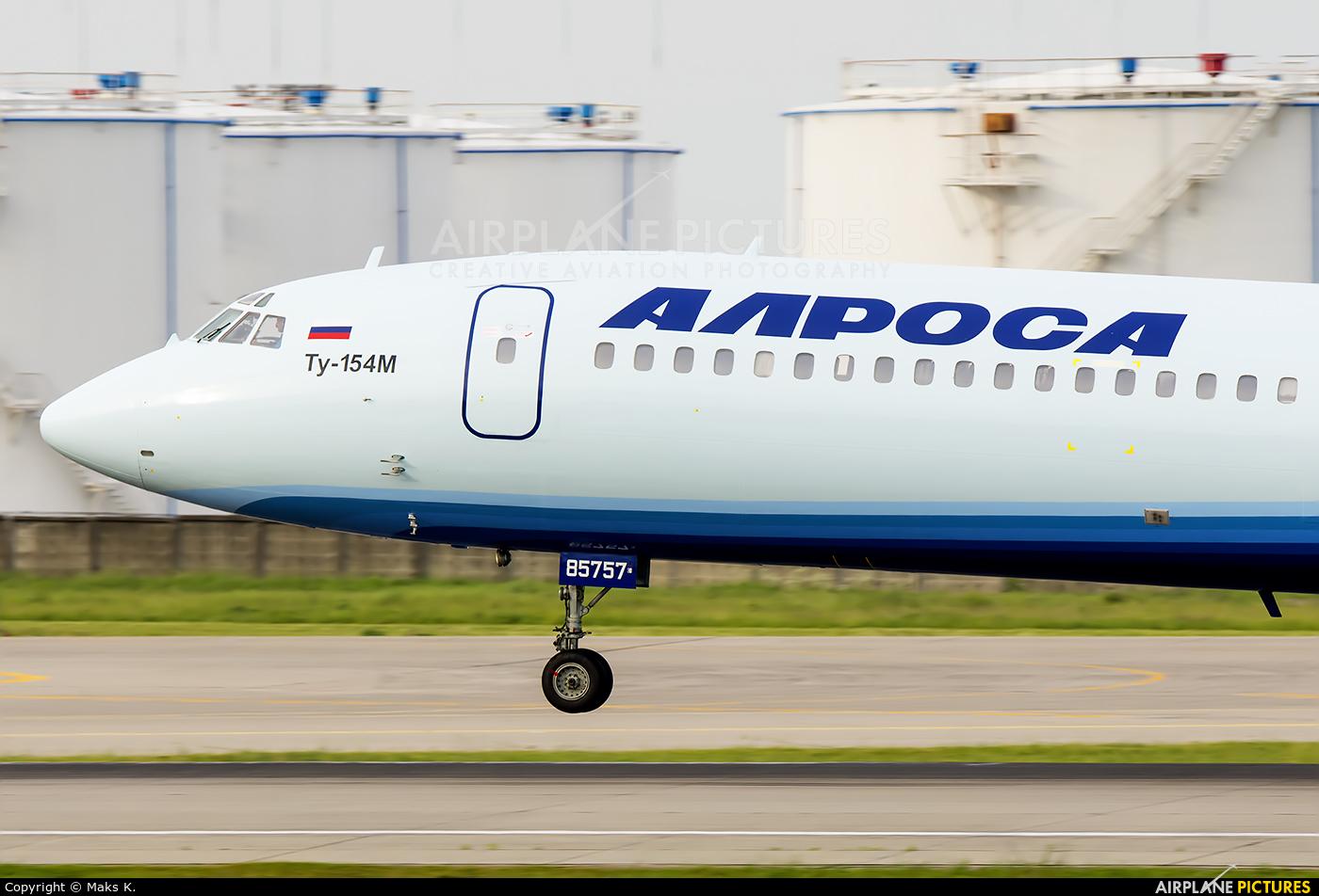 Alrosa RA-85757 aircraft at Moscow - Domodedovo