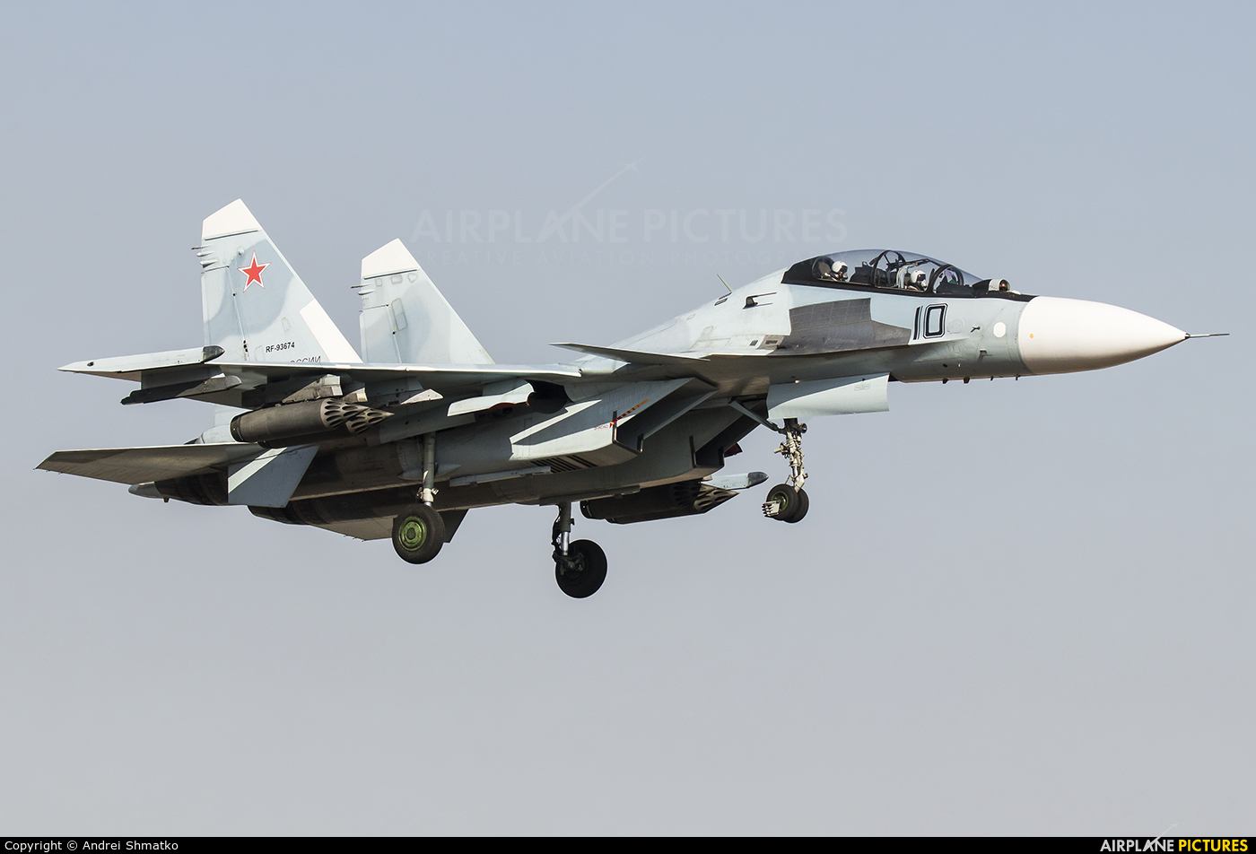 Russia - Air Force RF-93674 aircraft at Off Airport - Russia