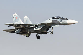 RF-93674 - Russia - Air Force Sukhoi Su-30SM