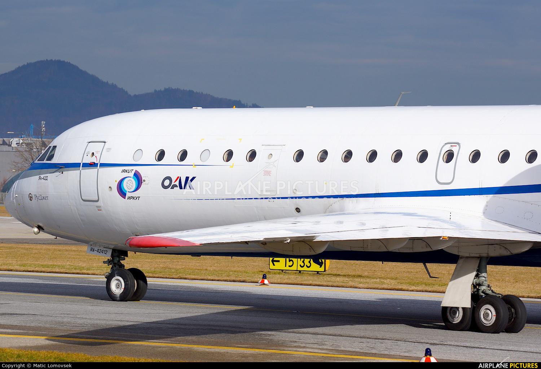 Rusjet Aircompany RA-42412 aircraft at Salzburg