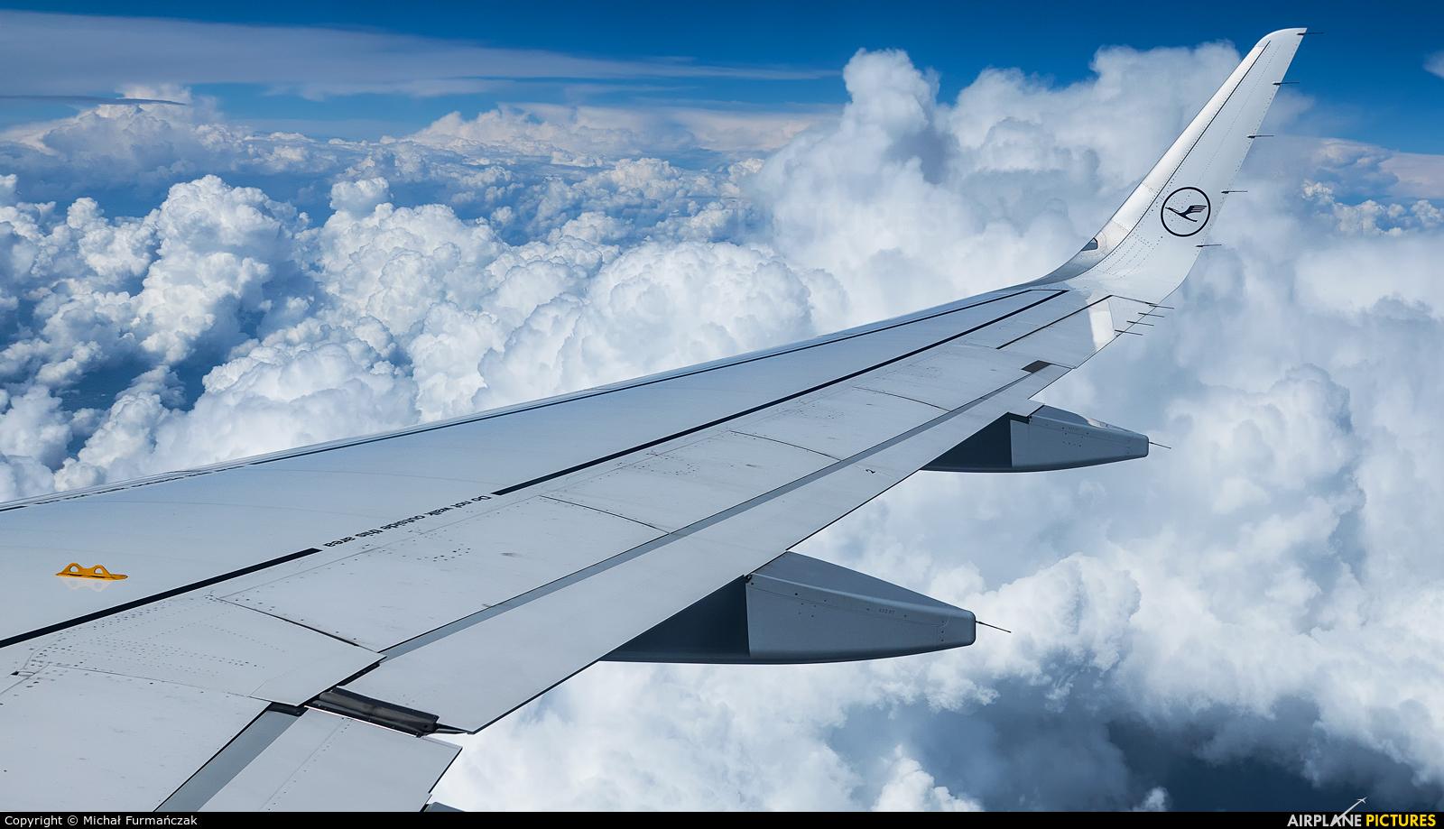Lufthansa D-AIUH aircraft at In Flight - International