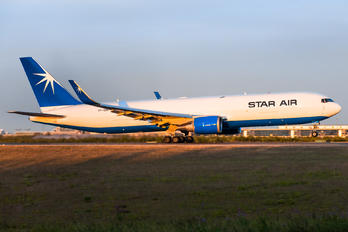 OY-SRV - Star Air Boeing 767-300F
