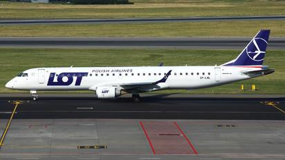 SP-LNL - LOT - Polish Airlines Embraer ERJ-195 (190-200)