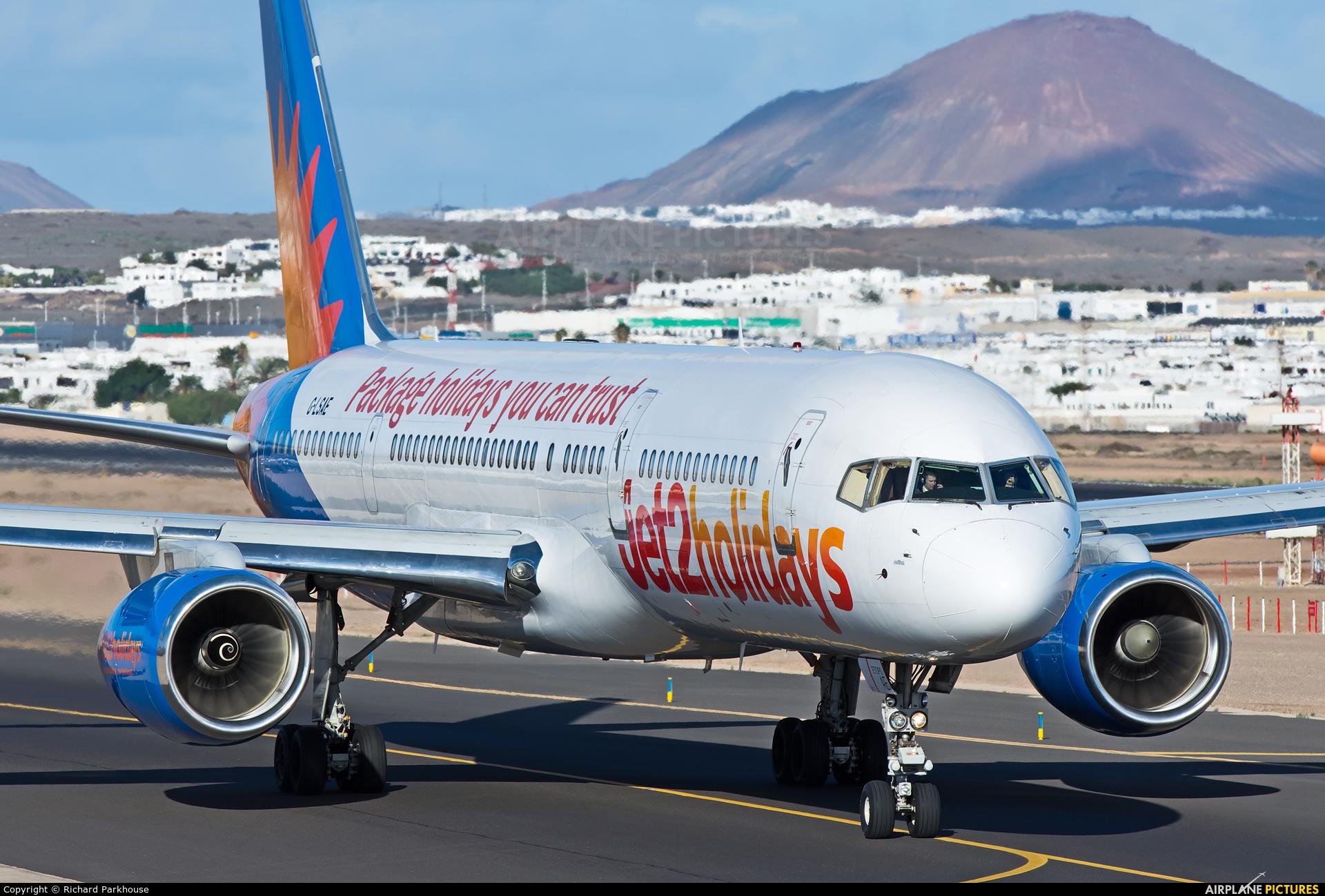 Jet2 G-LSAE aircraft at Lanzarote - Arrecife
