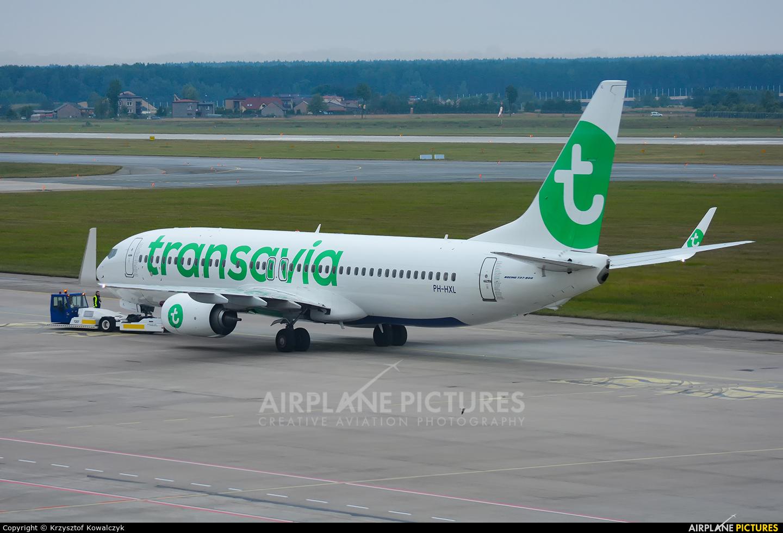 Transavia PH-HXL aircraft at Katowice - Pyrzowice