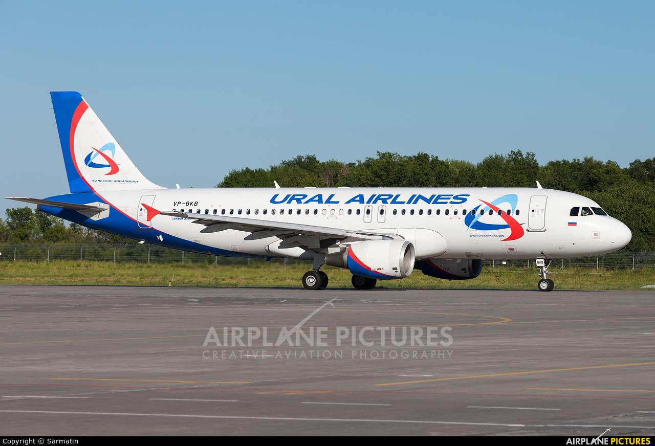 Ural Airlines VP-BKB aircraft at Kazan