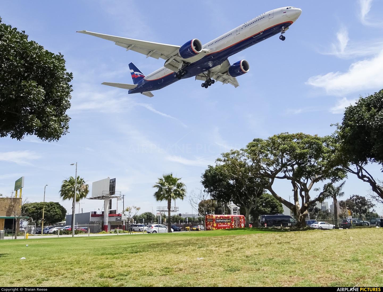 Aeroflot VP-BGC aircraft at Los Angeles Intl