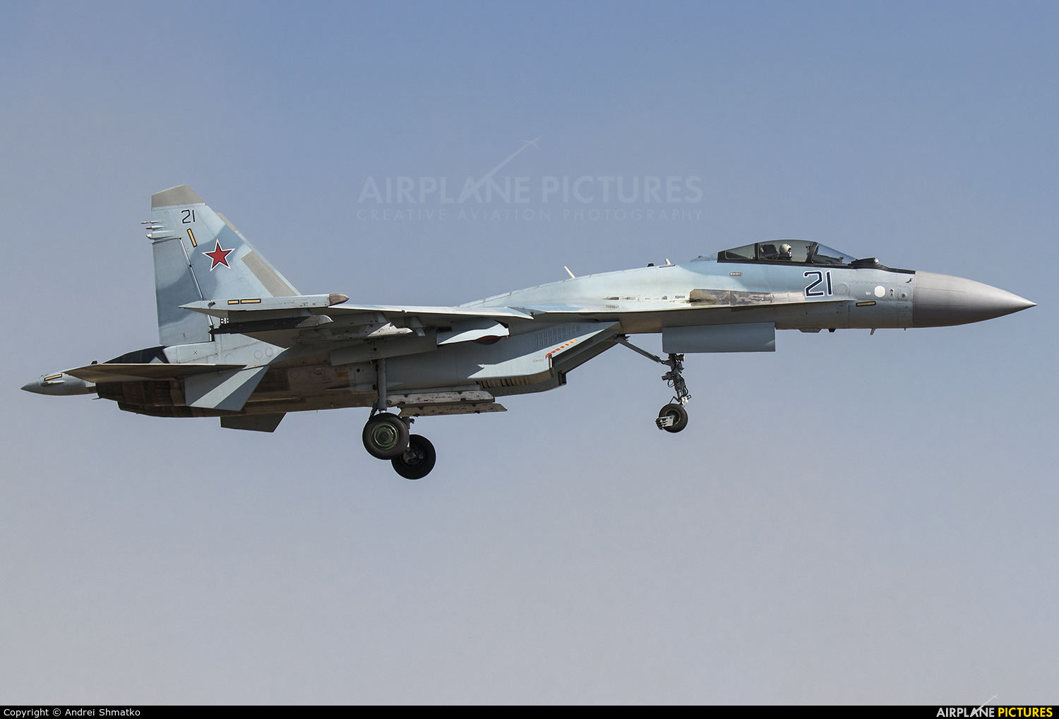 Russia - Air Force RF-95149 aircraft at Off Airport - Russia