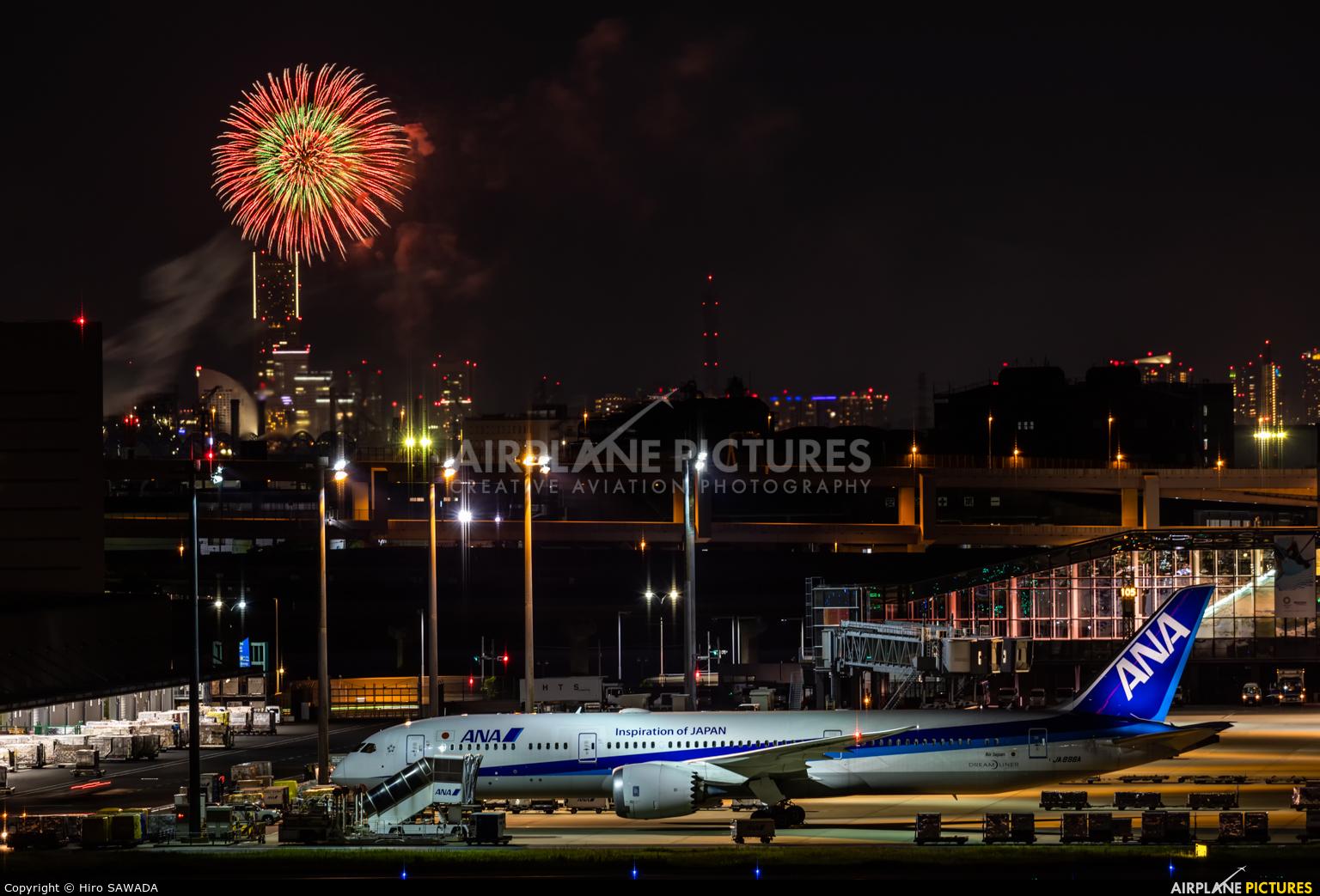 ANA - All Nippon Airways JA896A aircraft at Tokyo - Haneda Intl