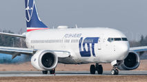 SP-LVB - LOT - Polish Airlines Boeing 737-8 MAX aircraft