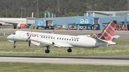 G-LGNR - FlyBe - Loganair SAAB 2000