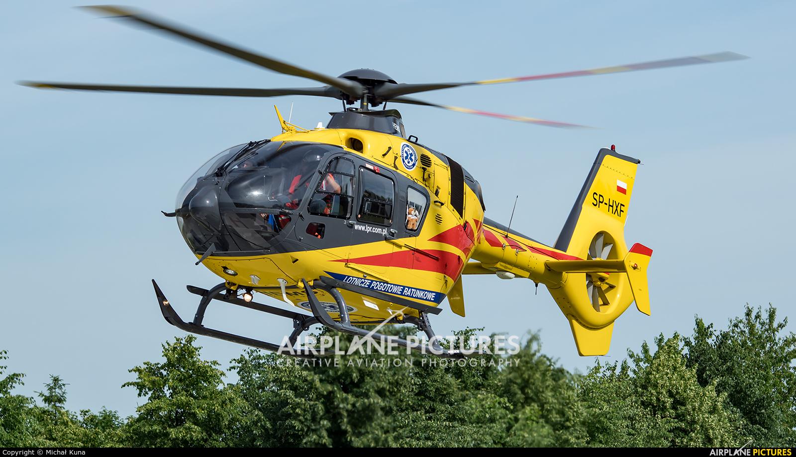 Polish Medical Air Rescue - Lotnicze Pogotowie Ratunkowe SP-HXF aircraft at Elbląg