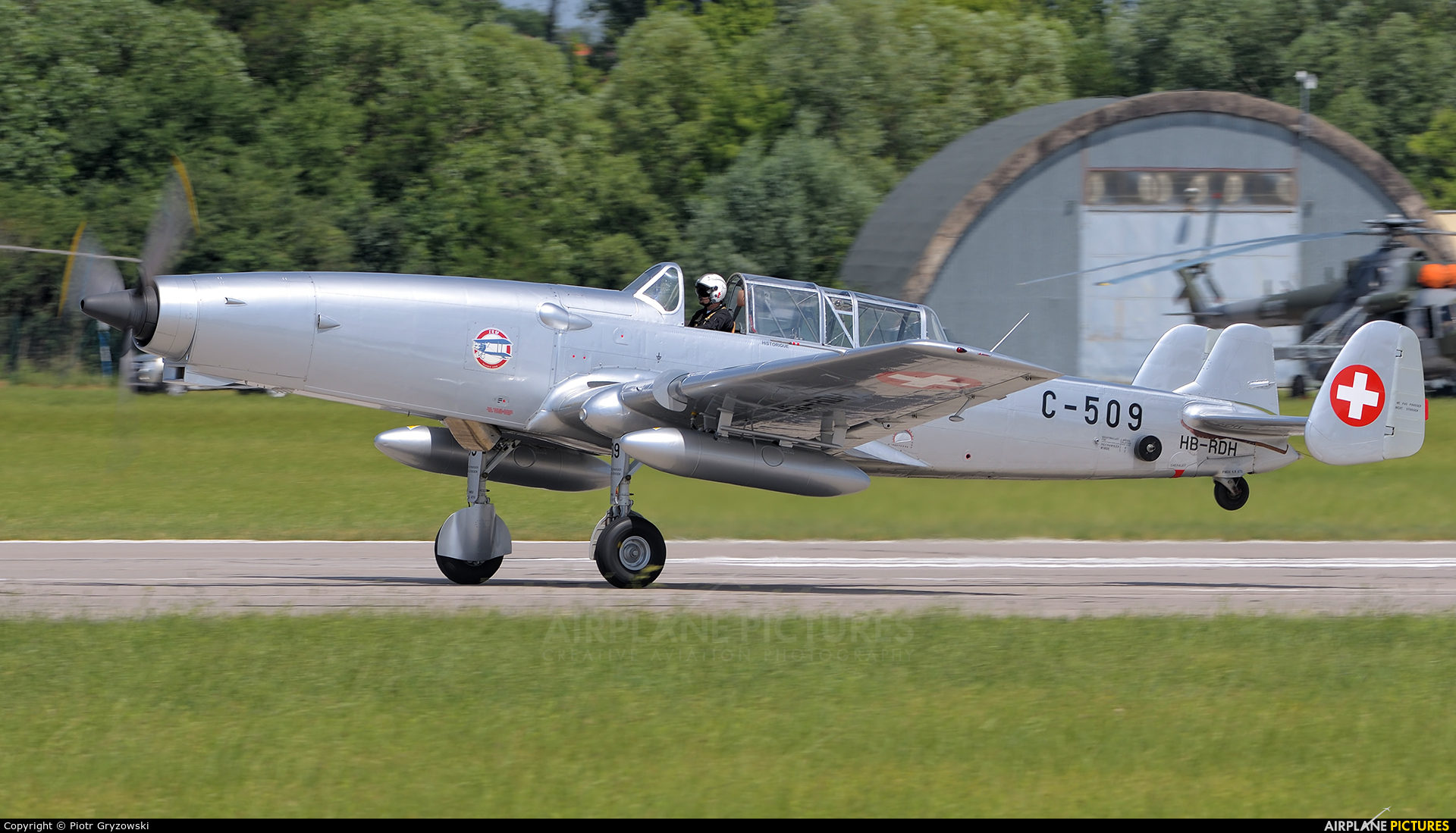 Private HB-RDH aircraft at Pardubice